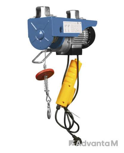 Мини электрическая таль стационарная GEARSEN PA 230В, 125/250кг, 12/6м